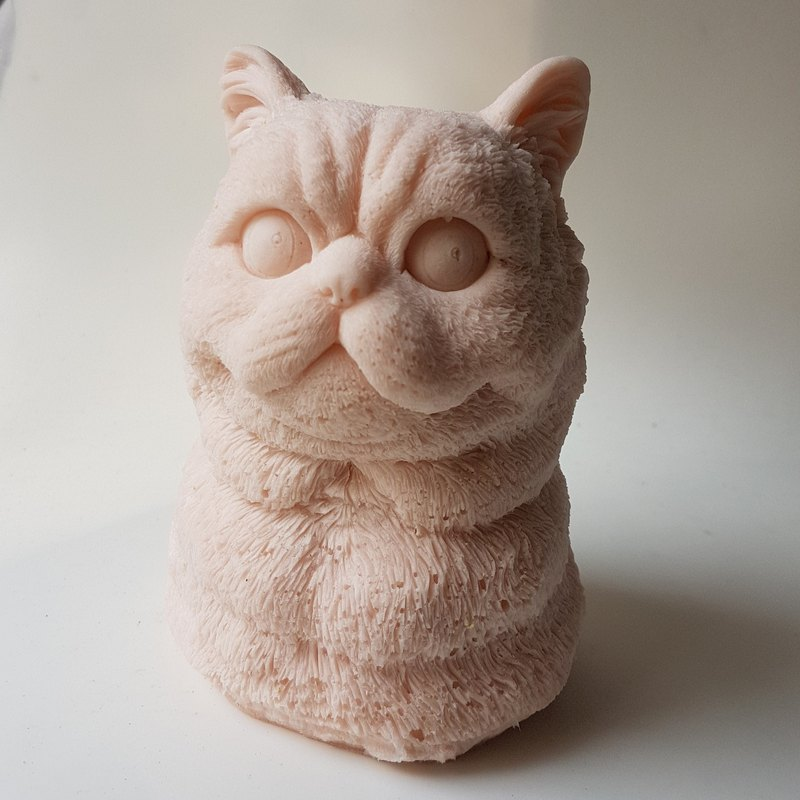 Squeeze Squishy, Slow rise -  Squeezable Stress Relievers Lifelike Kitty