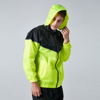 【BAOGANI】 B02  Parkour Two-piece Raincoat (YELLOW)