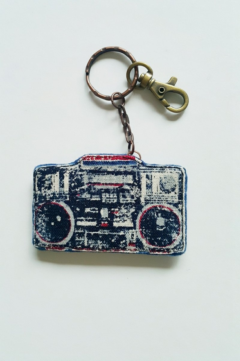 """Mini Bear Hand"" Audio Carrier Key Ring / Charm"