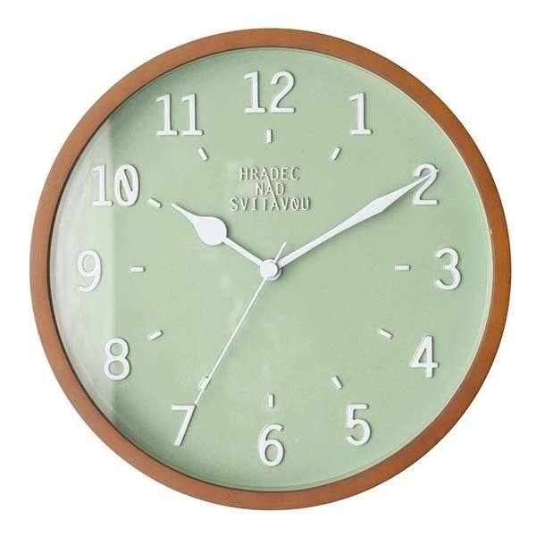 Norjso-simple Macaron modeling wall clock (green)