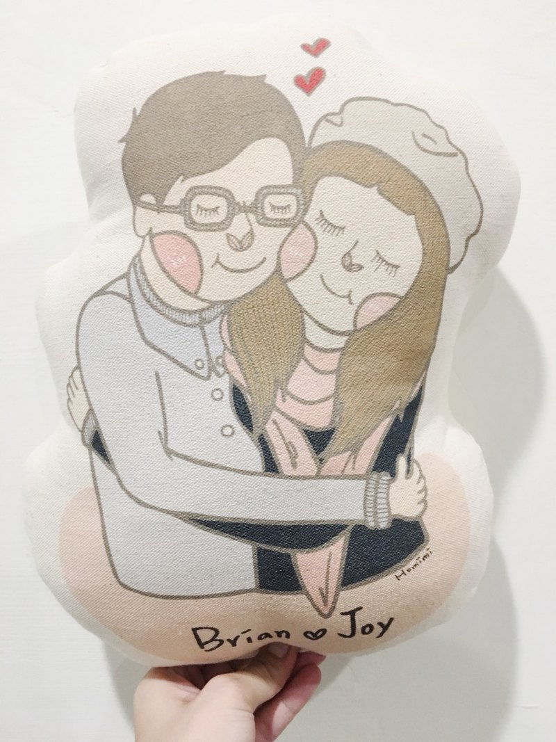 Homimi - Customized Pillow - Couples