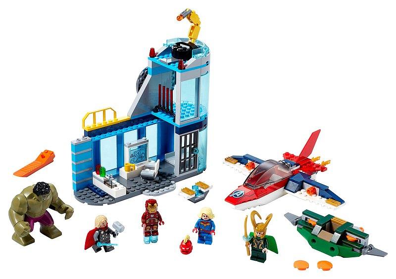 LEGO樂高 SUPER HEROES 超級英雄系列 Wrath of Loki 76152