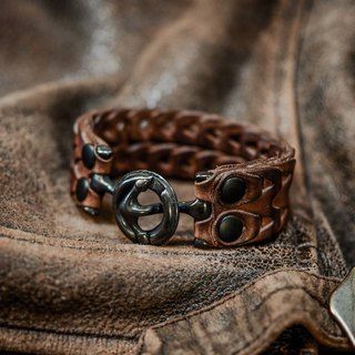 HEYOU Handmade –Leather Chain Bracelet