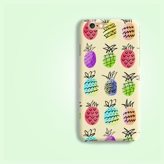 Pineapple pattern  hard Phone Case Cover for iphone X 8 HTC X9 M10 A9 A7 Sony Z5