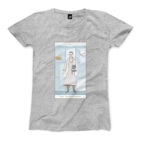 V | The Hierophant - Deep Heather Grey - Women's T-Shirt