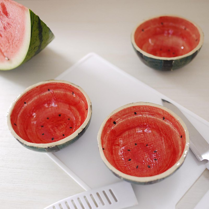 small bowl of fruits【watermelon】