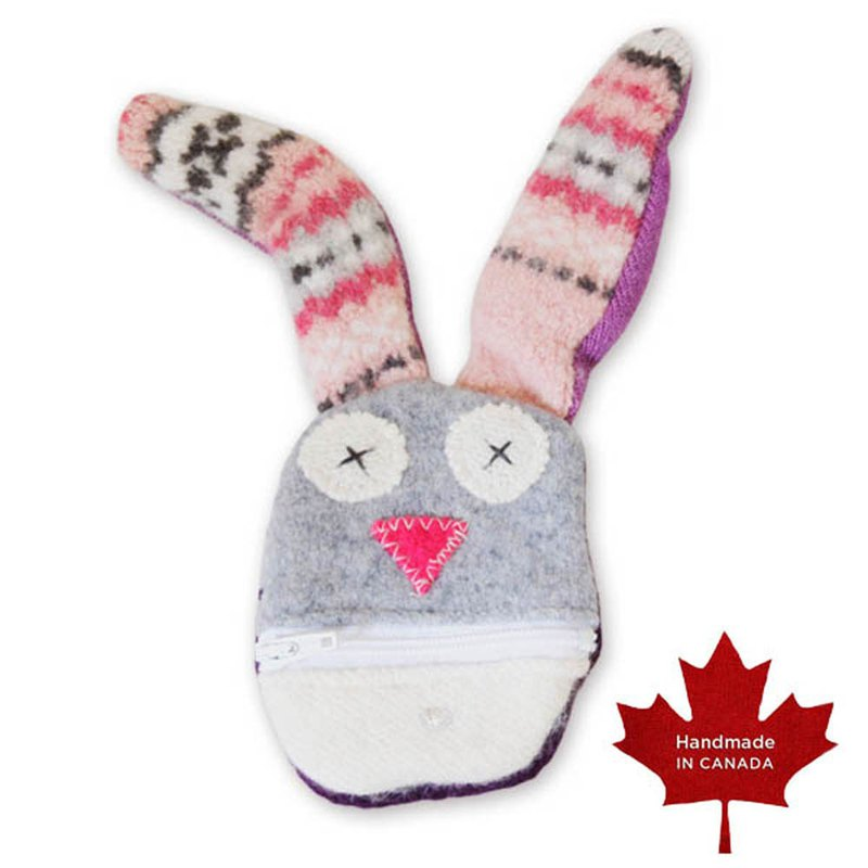 Animal Model Coin Purse - Bunny