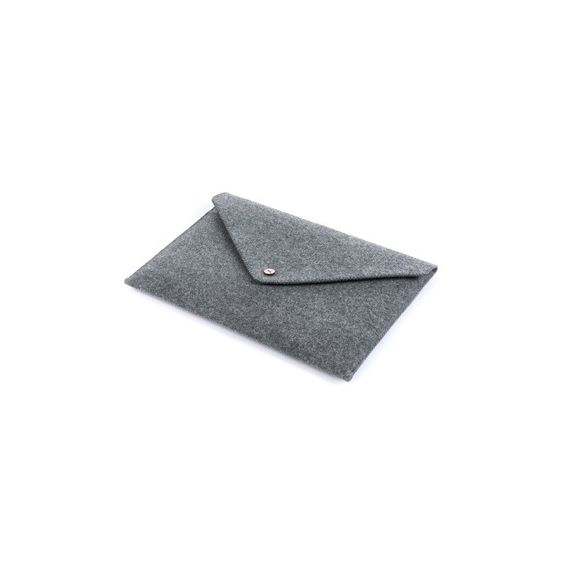 Dull Microsoft Surface Book laptop protective bag containing the Surface Pro 4 with a keyboard clutch sleeve protective sleeve wool felt computer bag