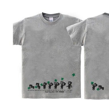 Clover & Easy ☆ Bear WS ~ WM • S ~ XL T-shirt order product]