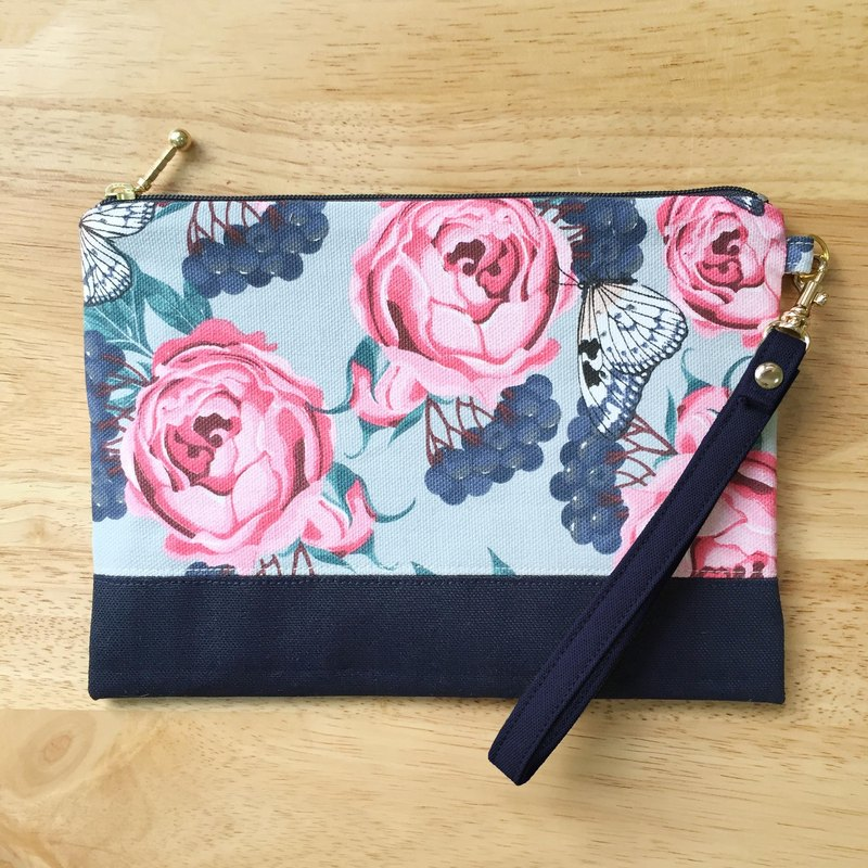 Garden - cotton-packed generous bag cosmetic bag