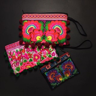 Tribal Clutch Bag