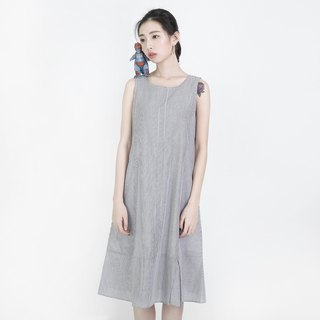 Awareness consciousness vest dress _8SF107_ gray