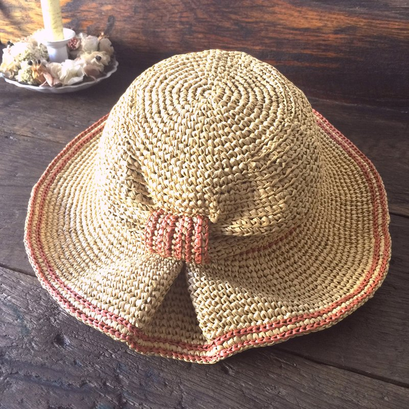 To prove their own opportunities for hand weaving shade 㡌 / paper pull Philippine straw hat / straw hat / hand cap〗 〖jump house crazy hand for