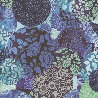 Moof Purple Garden Wrapping Paper