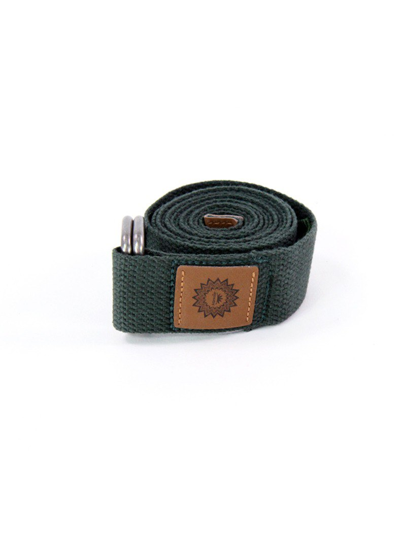 MIRACLE Murray │ Yoga Strap Dark Green 180cm