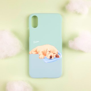 Love Sleepy Labrador Baby (iPhone.Samsung Samsung, HTC, Sony.ASUS Mobile Shell)