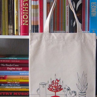 Kikare Nordic shelf canvas bag - fans home goods shelf