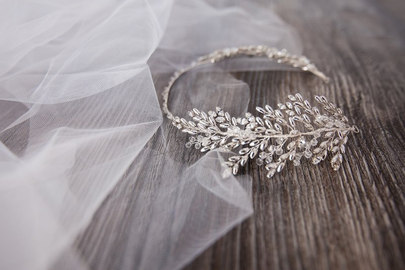 [Agatha] bridal hair accessories hand-made jewelry, wedding jewelry