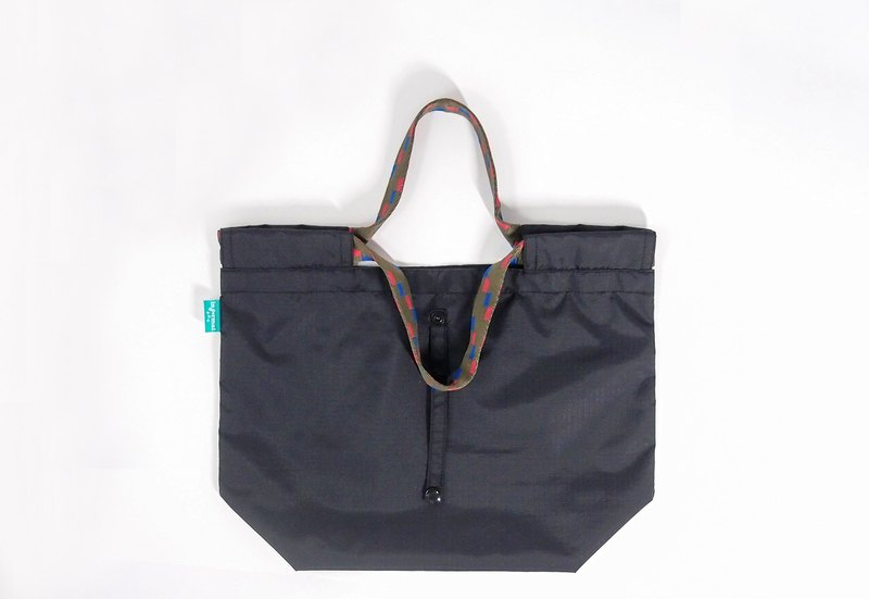 S: Small Informal R-bag Black *With options for strap*