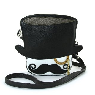 Sleepyville Critters - Mr. Tophat Cross Body Bag
