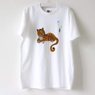 Tiger Screen Print T shirt I Forest Daily