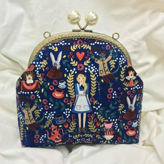 Alice in Wonderland Kisslocked Bag 16cm Size Girlskioku
