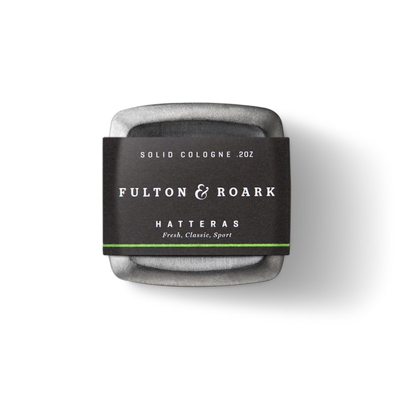 HATTERAS 頂級男性固態古龍水 - Fulton & Roark