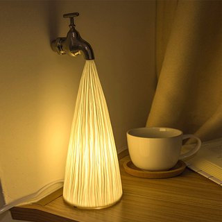 AINA water pipe ceramic desk lamp
