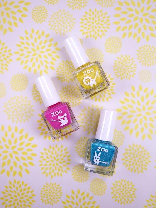 Sunflower fairy: ZOO ㄖ ㄨ 'abandoned child nail polish three-piece: Children's Day gift: