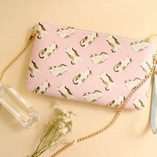 Syrup Cat 2 Way Purse-Crossbody/ Clutch