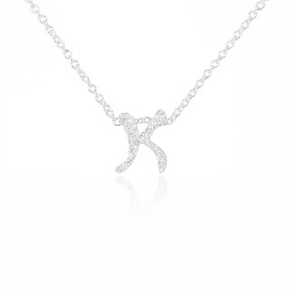 K. / Silver Necklace