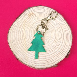Keyring Christmas tree exchange gifts