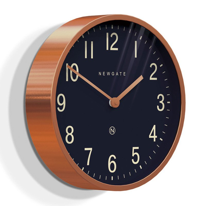 British style clock - Duke of Edward - Red Copper - 30cm