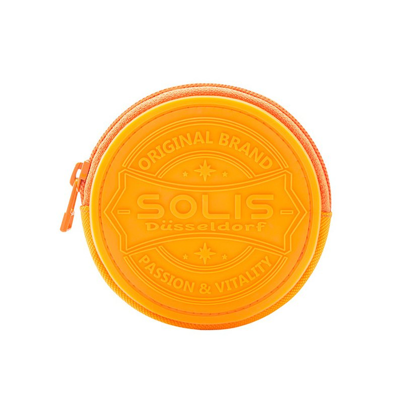 SOLIS zipped coin purse(Spicy Mustard)