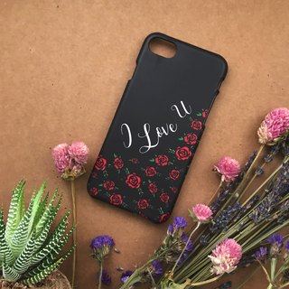 I Love You. Matte Case( iPhone, HTC, Samsung, Sony, LG, OPPO)