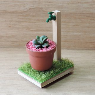 Vintage European style small plant garden [Limited Edition]