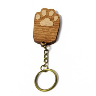 [Black] keychain palm / palm healing cat / cat / key ring / gift / customized
