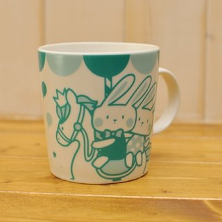 [Series] SUMAIRU merry smiling mug ★ Tiffany blue and green