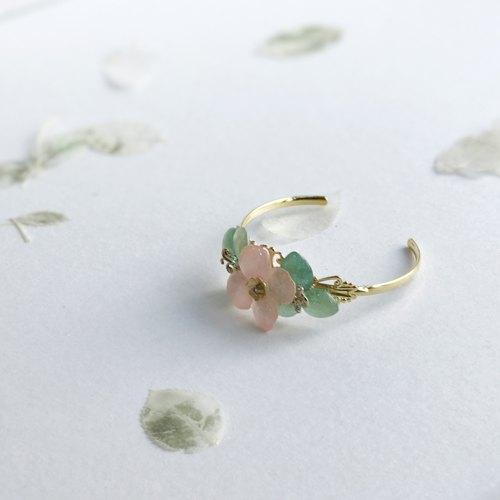 Fleur d\'amour] Hydrangea True Flower Jewel (Lake Blue + Pink) Open ...