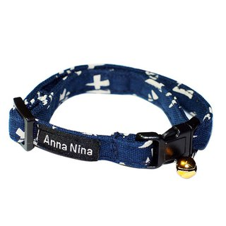 [AnnaNina] pet cat dog collar small Japanese character prime collar XS~M