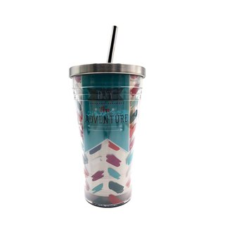 Stainless Steel Tumbler - Enjoy The Adventure