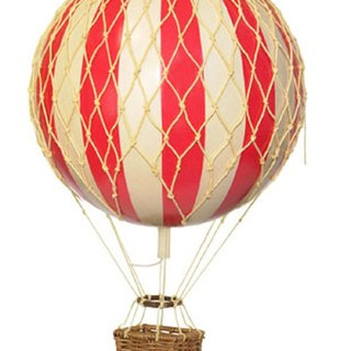 Authentic Models Hot Air Balloon Strap (Light Travel / Red)