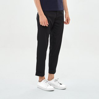 Slim-Fit CottonTrousers