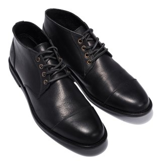 ARGIS classic gentleman in the tube Derby shoes #12103 black - Japanese handmade