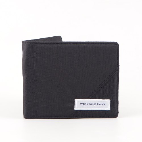 Lief Wrinkle Black (Coin Wallet) | Waterproof Canvas Wallet