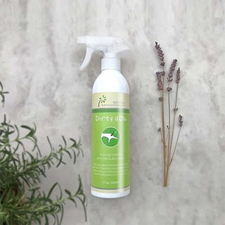 Dirty Dog - Bugs off - pure natural flea repellent spray -500ML