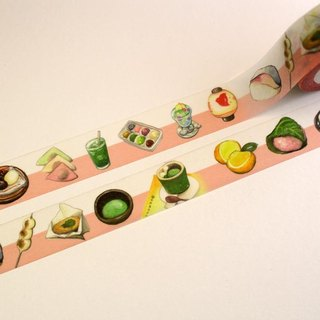 Kyoto food paper tape