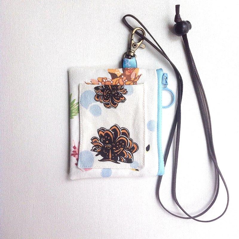 設計款NB189 - 【海蛞蝓印花】證件套零錢包