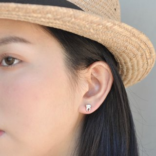 Hairy Silver 【Big Earrings Series】