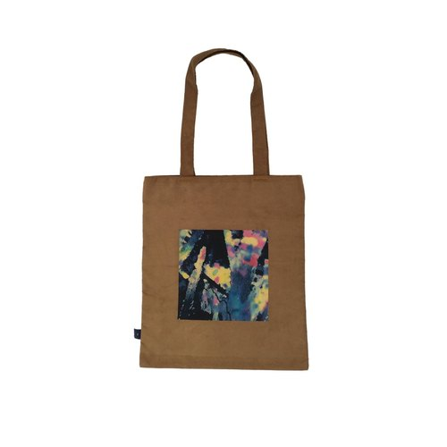 Coffee frame hand Tote bag